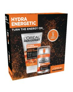 L'oréal paris men expert hydra energetic turn the energy on because you're worth it - 2 dele