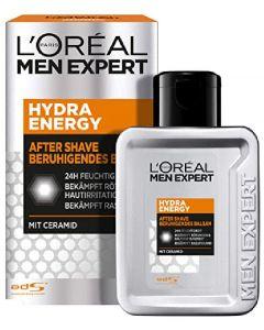 L'oréal paris men expert hydra energy after shave beruhigendes balsam mit ceramid 100ml
