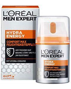 L'oréal paris men expert hydra energy comfort max feuchtigkeitspflege 50ml