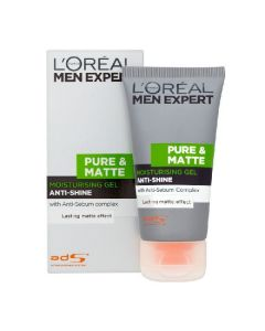 L'oréal paris men expert pure & matt moisturising gel anti-shine anti-sebum complex 50ml