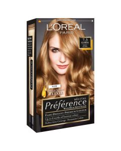 L'oréal paris premium permanent hair color 7.3 florida honey blonde