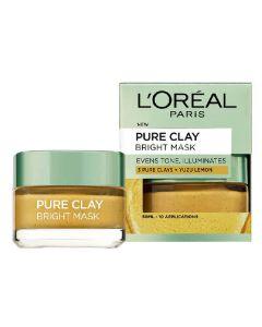 L'oréal paris pure clay bright mask 50ml