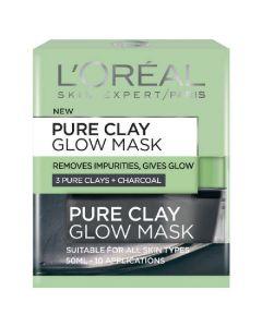 L'oréal paris pure clay glow mask 50ml