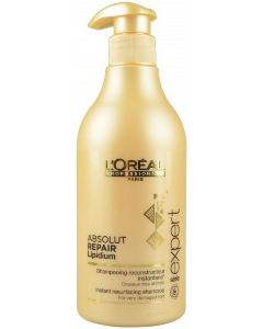 L'oréal paris serie expert absolut repair lipidium instant resurfacing shampoo 750ml