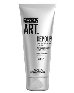 L'oréal paris tecni art depolish destruturing paste rough effect force 4 100ml