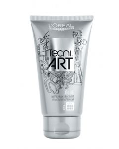 L'oréal professional paris tecni art glue structurising fibre gel 6 150ml