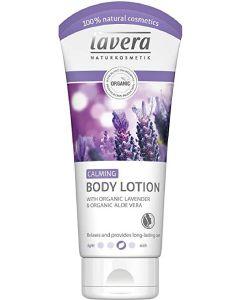 Lavera naturkosmetik calming body lotion organic lavender & organic aloe vera 200ml