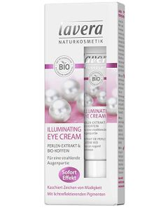 Lavera naturkosmetik illuminating eye cream 15ml