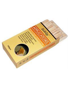 Liddy applicators natural muslin epilating strips 100 stk