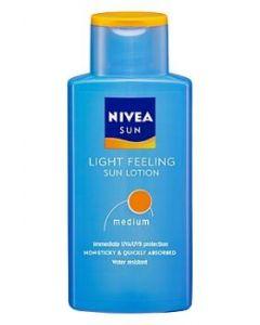 NIVEA SUN Light Feeling Sun Lotion Medium 20