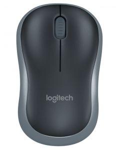 Logitech plug-and-play wireless plus comfort mus M185 sort
