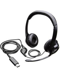 Logitech USB computer headset H390