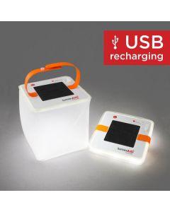 Lumin AID packlite nova usb solar inflatable lantern 75 lumens