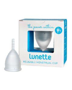 Lunette reusable menstrual cup model 2 clear