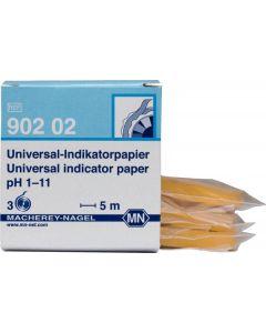 Macherey-nagel universal-indikatorpapier pH 1-11 ref. 902 02 3x5m