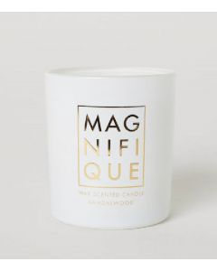 Magnifique wax scented candle sandalwood