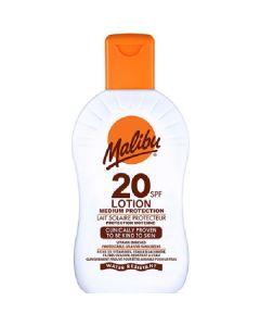 Malibu lait solaire protecteur lotion SPF20 medium protection 200ml