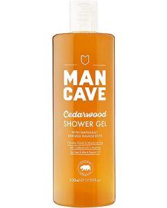 Man cave cedarwood shower gel 500ml