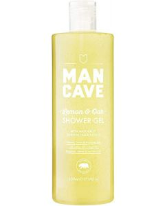 Man cave lemon & oak shower gel 500ml