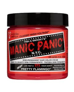 Manic panic semi-permanent hair color cream pretty flamingo 118ml