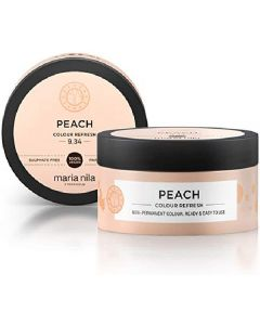 Maria nila peach colour refresh non-permanent colour masque 9.34 100ml