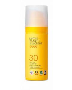 Matas ansigts solcreme høj SPF 30 50ml
