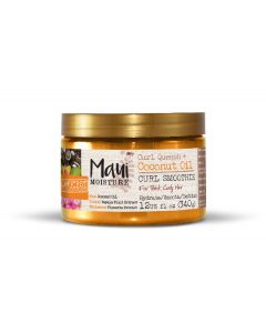 Maui moisture curl quench + coconut oil curl smoothie 340g