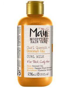 Maui moisture hair care curl quench + coconut oil curl milk 236ml