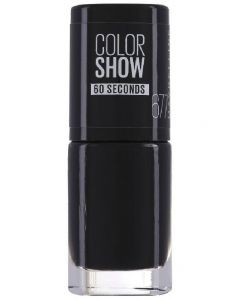 Maybelline new york color show 60 seconds 677 blackout 6,7ml