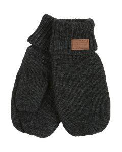 Melton Børne Luffer Style: 5893 Koksgrå Str. 2-3 År