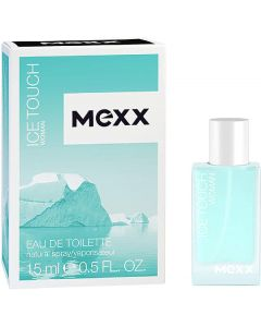 Mexx woman eau de toilette ice touch 15ml