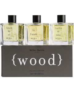 Miller harris london wood fragrance collection 3x15ml
