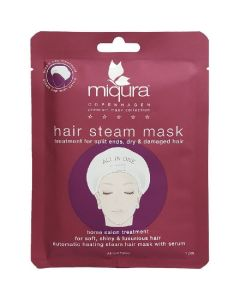 Miqura copenhagen hair steam mask
