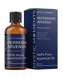 Mystic moments peppermint arvensis 100% pure essential oil 100ml
