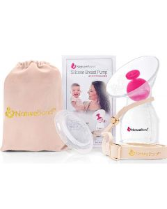 Naturebond silicone breast pump
