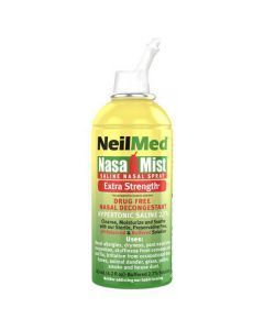 Neilmed nasal mist saline nasal spray extra strength 125ml