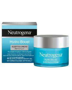 Neutrogena hydro boost sleeping creme nacht 50ml