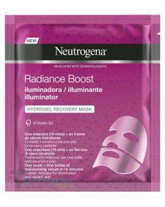 Neutrogena radiance boost the illuminator hydrogel recovery mask 30ml