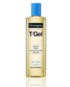 Neutrogena T/Gel repair & nourish anti-dandruff shampoo dry hair 250ml (Minus æske)