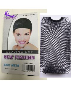 New fashion cool mesh weaving cap invisible nylon hair