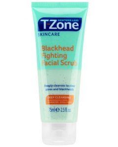 Newton labs t-zone skincare blackhead fighting facial scrub 75ml