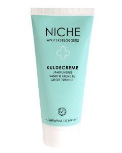 Niche apoteksbloggers kuldecreme uparfumeret vandfri creme til meget tør hud 100ml