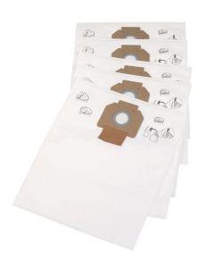Nilfisk original fleece filter bag 302004000 5 stk.