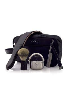 Njord straight razor starter set