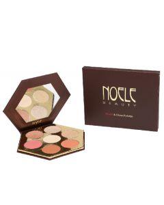 Noele beauty blush & glow palette