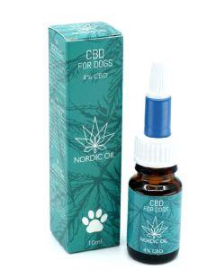 Nordic oil CBD for dogs 4% CBD 10ml