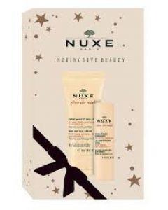 Nuxe paris instinctive beauty réve de miel håndcreme + læbepomade stift