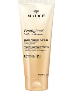Nuxe paris prodigieux precious scented shower gel with golden shimmer 200ml