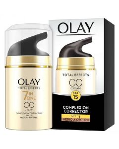 Olay 7 in one total effects cc cream SPF15 complexion corrector 50ml