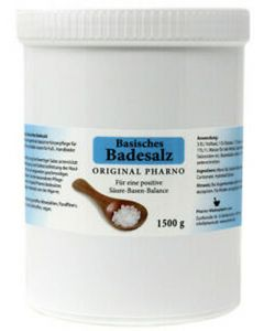 Original pharno basisches badesalz 1500g